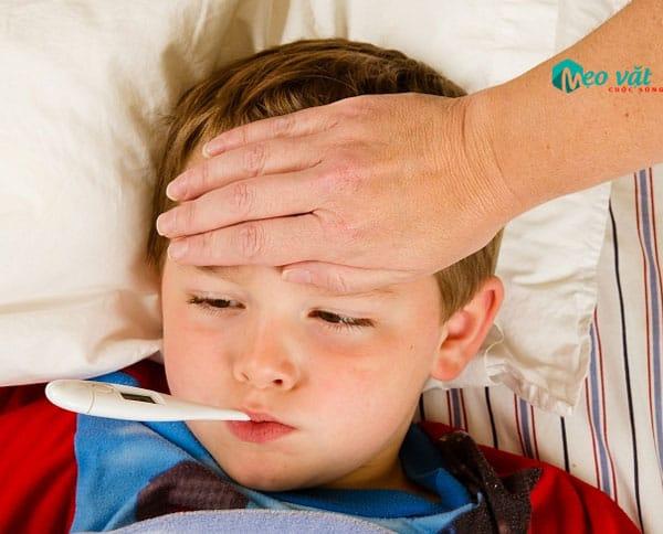 Cách chữa trị sốt virus ở trẻ em