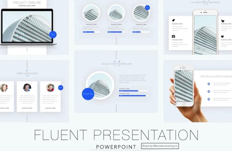 Fluent-PowerPoint-Template