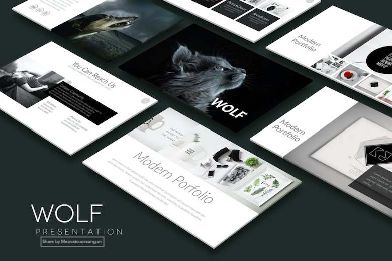 WOLF-Powerpoint-Template