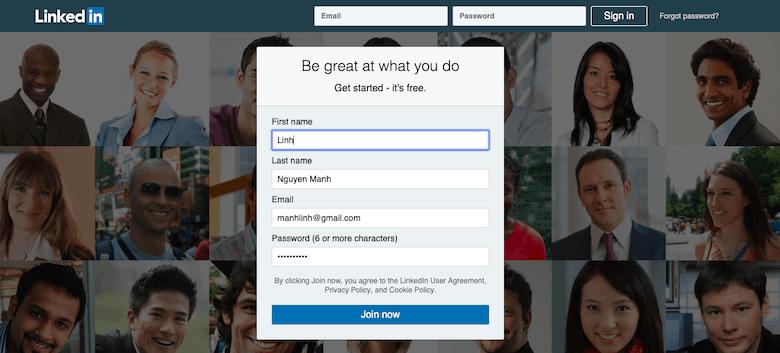 Cách điền Form Online
