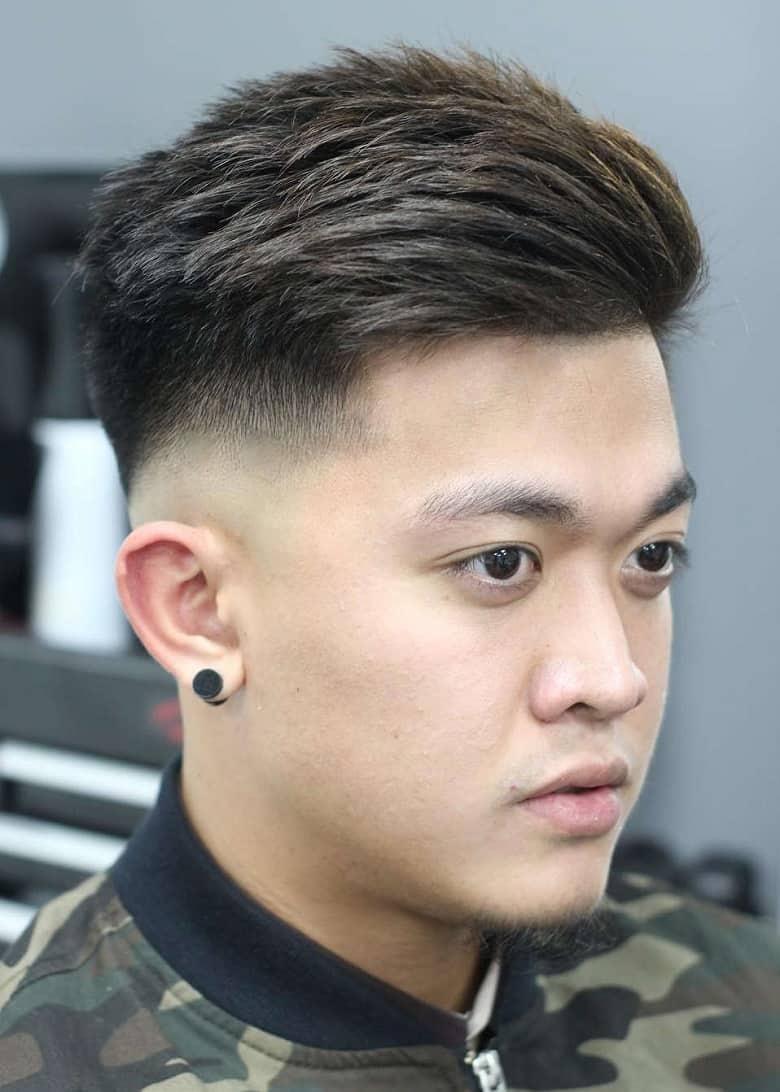 Kiểu tóc ngắn doanh nhân Business Haircut