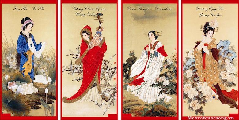 Tứ đại mỹ nhân Trung Hoa thời cổ