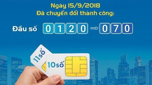 0120,0121,0122,0126,0128 Mobifone đổi thành đầu số gì?