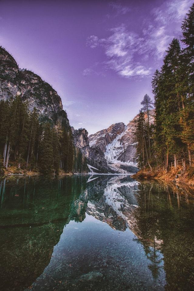 Hình ảnh sông nước mặt trời mọc