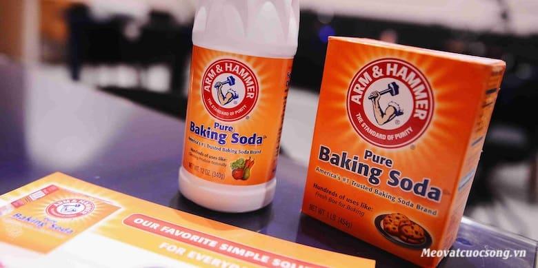 Sử dụng bột Baking Soda trị ong đốt
