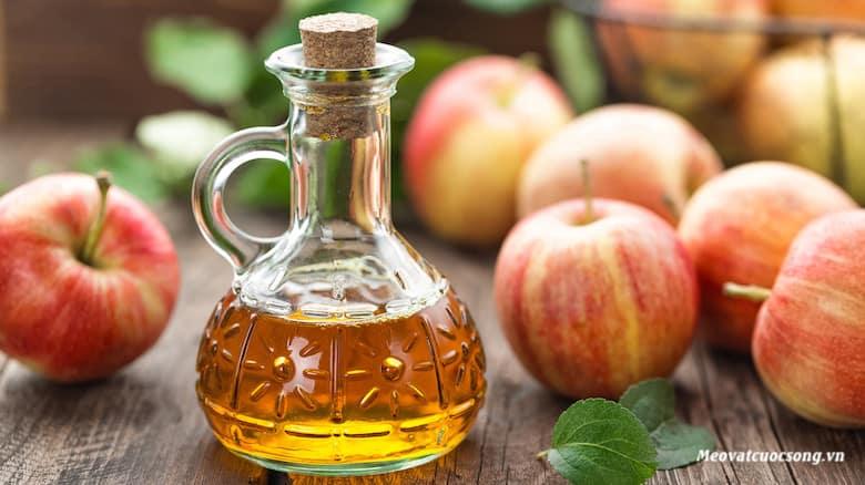 Sử dụng giấm táo giảm cân