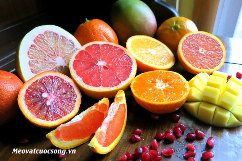 Bị tiêu chảy nên tránh ăn các loại hoa quả có múi