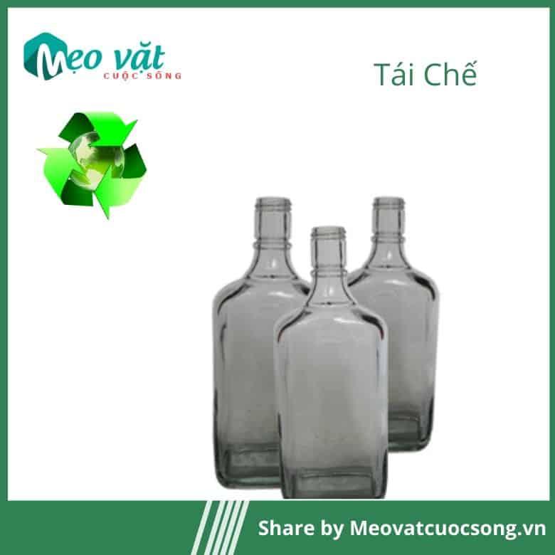 Tái chế chai thuỷ tinh cũ