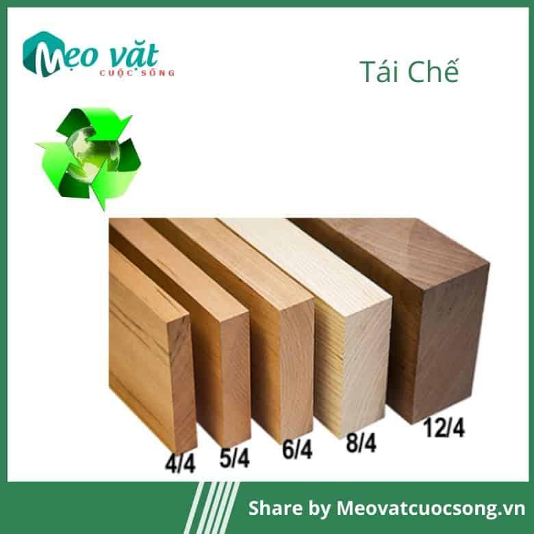Tái chế gỗ cũ