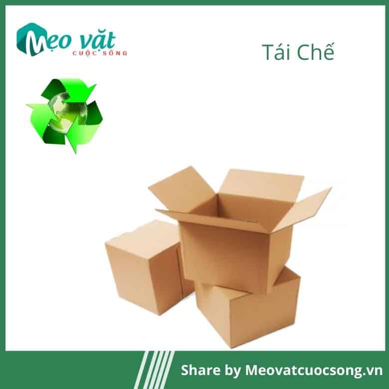 Tái chế thùng Carton