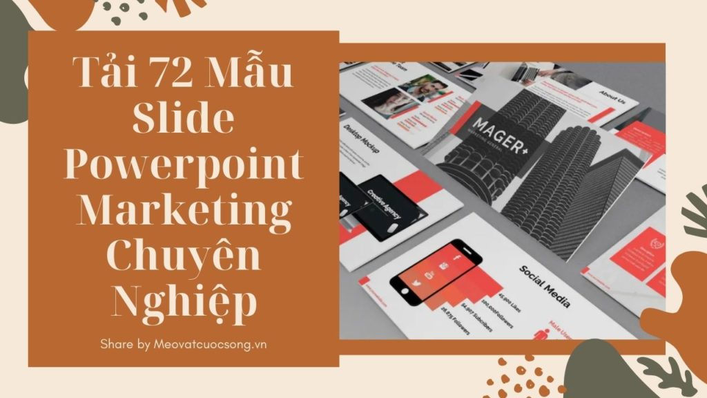 Mẫu Slide Powerpoint Marketing Chuyên Nghiệp
