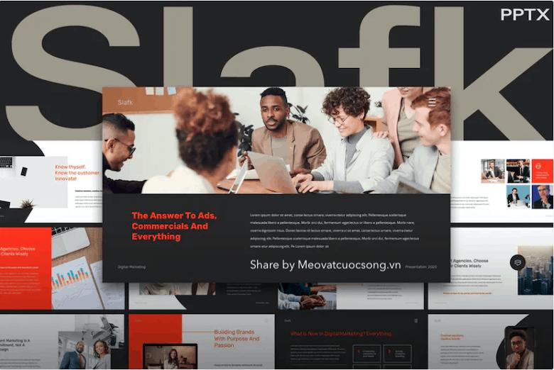 slafk-digital-marketing-powerpoint-template